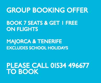 Group booking offer
