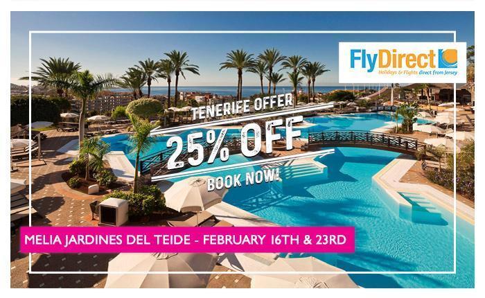 Melia Jardines Del Teide 25% Off Offer